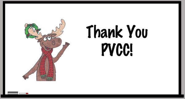 White Board PVCC Thanks copy
